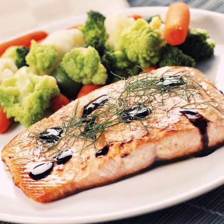 Grilled Salmon Hormone Diet