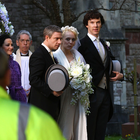 Sherlock Wedding