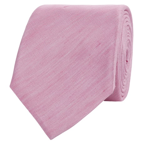 Corsivo Pink Silk Tie, £40, House of Fraser