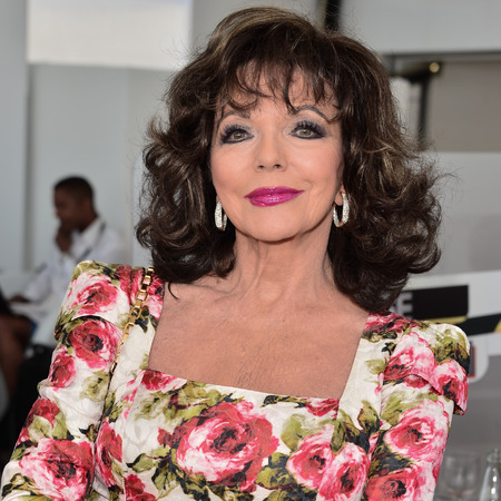 Joan Collins attends 'The Time of Their Lives' photocall at the 67th Annual Cannes Film Festival on May 18, 2014 in Cannes