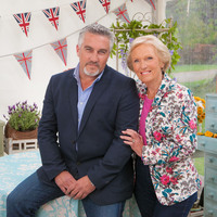Presenters Mary Berry and Paul Hollywood - The Great British Bake Off 2014