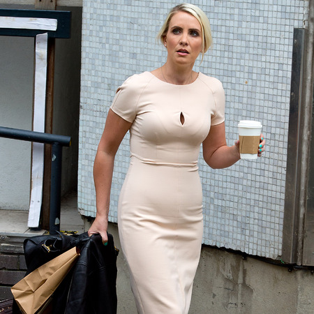 Claire Richards Wedding Claire Richards Sighted at Itv