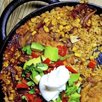 Nadia Sawalha mexican chicken dish recipe