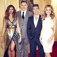 Britain's Got Talent judges, Alesha Dixon, David Walliams, Simon Cowell and Amanda Holden
