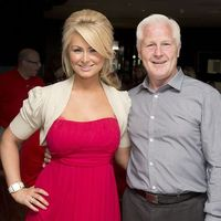 Jim Watt and daughter Michelle Watt at a charity event in Loch Lomond, Scotland, August 2013