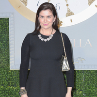 Amanda Lamb attends Cinderella premiere at Odeon Leicester Square on March 19, 2015.