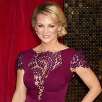 Gillian Taylforth red carpet TV awards