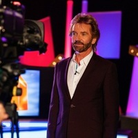 Noel Edmonds has the tabled turned on him for 10th anniversary special of Deal Or No Deal, September 2015.